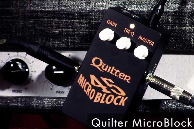 QUILTER MICROBLOCK 45 REVIEW – April 2021